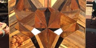 Barn wood sofa table scavenger woodworks scavenger woodworks for Reclaimed wood furniture bend oregon