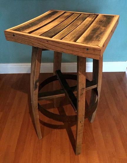 Stool scavenger woodworks for Reclaimed wood furniture bend oregon
