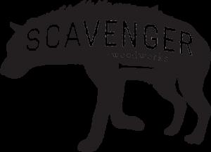 Scavenger Woodworks Logo, custom furniture in Bend, Oregon