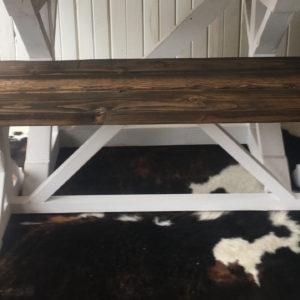 Rustic Modern Style Farm House Bench