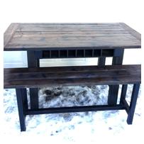 scavenger woodworks testimonial table