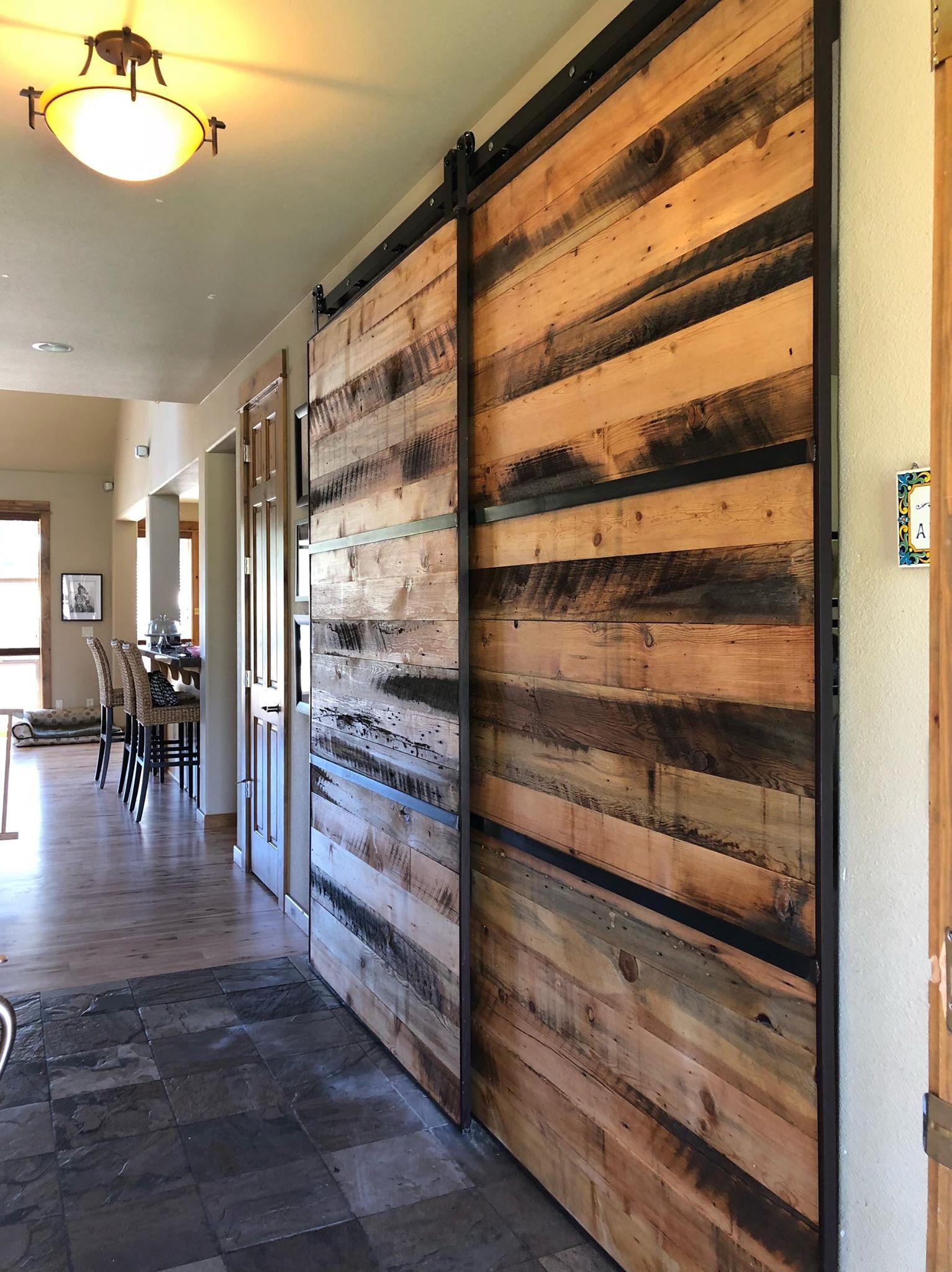 Sliding barn doors custom in Bend, Oregon by Scavenger ...